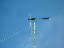 Maui wind generator on 60 ft tower