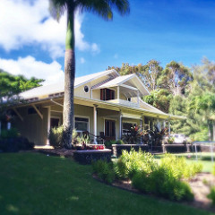 beautiful custom house and cottage with ocean views, Haiku Maui HI 96708