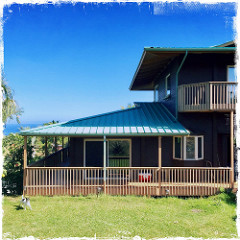 oceanfront house on 3.9 acres for sale in Haiku Maui Hawaii