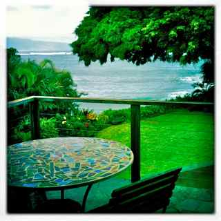 Maui home for sale - Kuau oceanfront home with pool